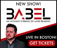 BABEL: An Intimate Evening of Mind Reading in Boston