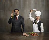 Penn & Teller: The world's greatest comedy magicians in Broadway