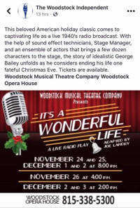 It's A Wonderful Life A Live Radio Play in Chicago