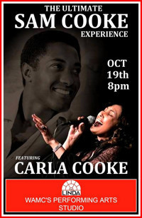 Carla Cooke: The Ultimate Sam Cooke Experience in Central New York
