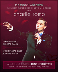 My Funny Valentine: A Swingin' Celebration of Love & Romance with Charlie Romo in Cabaret