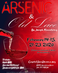 Arsenic and Old Lace in San Antonio