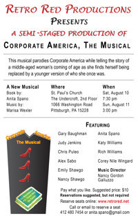 Corporate America, The Musical in Broadway