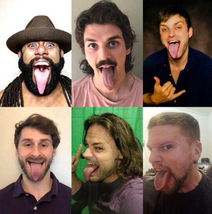 Lizard Tongue Men
