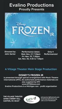 Disney's Frozen Jr. in Detroit