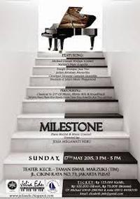 Milestone Piano Recital & Music Concert in Indonesia