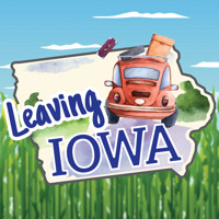 Leaving Iowa in Des Moines