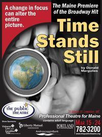 Time Stands Still by Donald Margulies in Maine