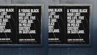 Lament for Sheku bayoh in Scotland