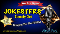 Jokesters Comedy Club in Las Vegas Logo