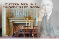 Fiftten Men in a Smoke-Filled Room in Los Angeles