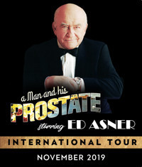 A Man and His Prostate starring Ed Asner in Atlanta