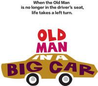 Old Man in a Big Car in Broadway
