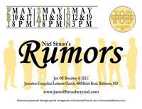 Rumors by Neil Simon in Baltimore