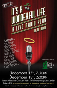 It's A Wonderful Life: A Live Radio Play by Joe Landry in Sioux Falls