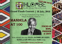 Ihlombe Choral Festival  in South Africa