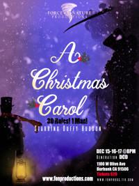 A Christmas Carol, 30 Roles! 1 Man! Starring Duffy Hudson in Los Angeles