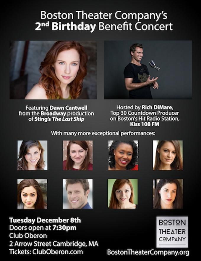 Boston Theater Company's 2nd Birthday Benefit Concert