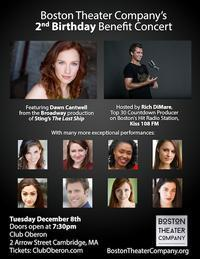 Boston Theater Company's 2nd Birthday Benefit Concert in Boston