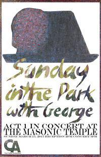 Sunday in the Park with George: Act 1 in Concert at The Masonic Temple  in Maine