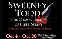 Sweeney Todd  the Demon Barber of Fleet Street in San Antonio