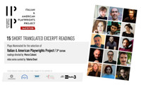 Italian & American Playwrights Project Announces Video Podcasts of New Plays Under Consideration in Off-Off-Broadway