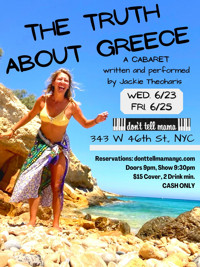 The Truth About Greece in Cabaret Logo