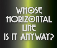 Whose Horizontal Line Is It Anyway? in Chicago