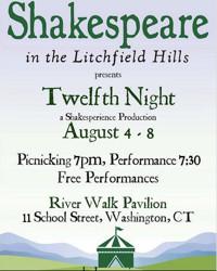 Twelfth Night  in Connecticut