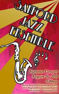 Sanford Jazz Ensemble: Summer Concert in Broadway