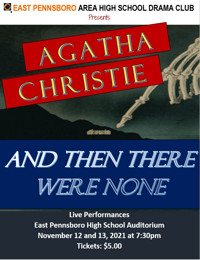 And Then There Were None by Agatha Christie in Central Pennsylvania