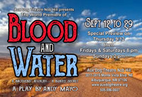 BLOOD AND WATER in Albuquerque