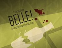 Belle! An improvised comedic play at Charm City Fringe Festival in Baltimore