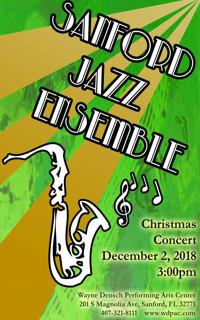 Sanford Jazz Ensemble: Christmas Concert in Miami
