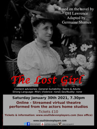 The Lost Girl: Based on the novel by D.H. Lawrence. in UK Regional Logo