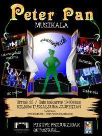 Peter Pan musical in Spain