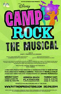 Camp Rock The Musical in Broadway