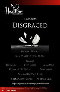 DISGRACED by Ayad Akhtar in Broadway
