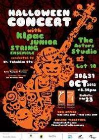 Halloween Concert with klpac Junior String Ensemble in Malaysia