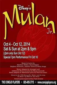 Disney's Mulan Jr. in Thousand Oaks