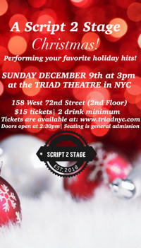 A Script 2 Stage Christmas in Off-Off-Broadway