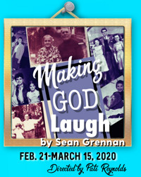 Making God Laugh by Sean Grennan in San Diego