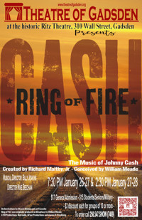 Ring of Fire: The Johnny Cash Musical Show in Birmingham