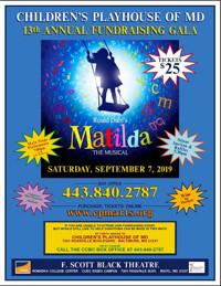 CPM's Gala 2019 - Matilda The Musical in Baltimore