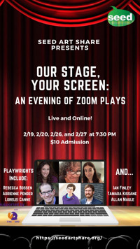 Our Stage, Your Screen: An Evening of Zoom Plays in Raleigh