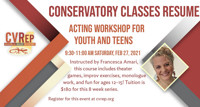 Acting Workshop For Youth & Teens in Los Angeles