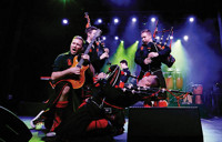 The Red Hot Chilli Pipers in Boston