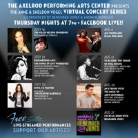 APAC SUMMER VIRTUAL CONCERT: American Idol's Ace Young and Diana DeGarmo in New Jersey