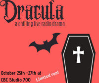 DRACULA: a chilling live radio play in Vancouver