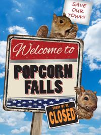 Popcorn Falls in Philadelphia